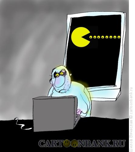 Карикатура: Глаза, Шилов Вячеслав