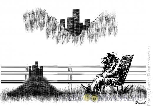 Карикатура: Город муравьев, Богорад Виктор