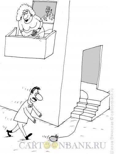 Карикатура: Ловушка, Шилов Вячеслав