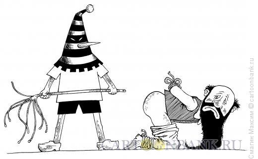 Карикатура: Наказание Карабаса, Смагин Максим