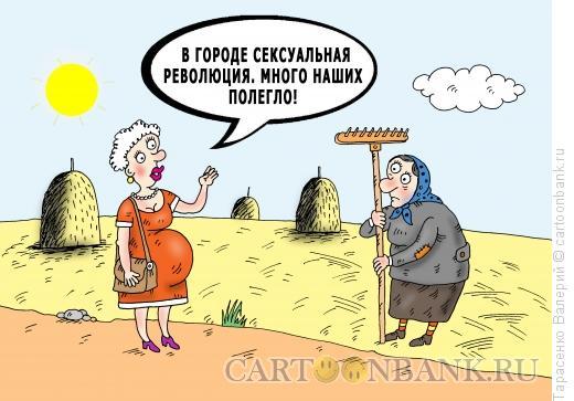Карикатура: Крестьянский вопрос, Тарасенко Валерий