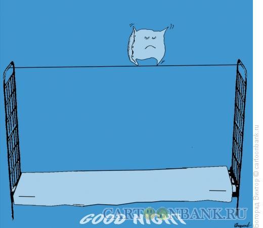 Карикатура: Ночной цирк, Богорад Виктор