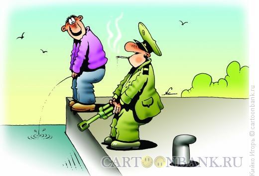 Карикатура: Артиллерист, Кийко Игорь