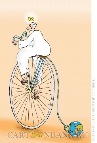 Карикатура: Все-таки она вертится, Тарасенко Валерий
