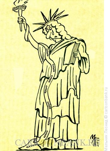 Карикатура: Кризис, Мельник Леонид