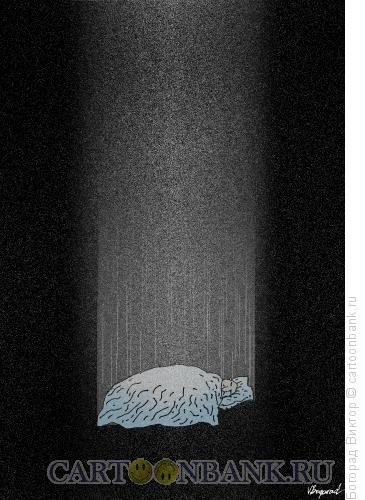 Карикатура: Падение, Богорад Виктор
