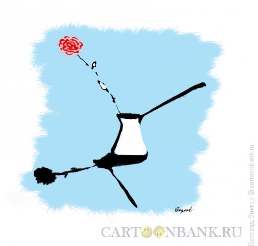 Карикатура: Утреннее кофе 8 марта, Богорад Виктор