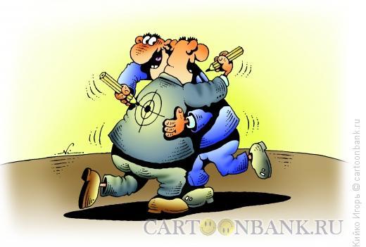 Карикатура: Доброжелатели, Кийко Игорь