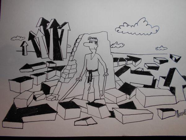Карикатура: Стрелки, Петров Александр