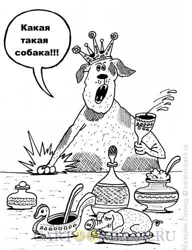 Карикатура: Что, что , что!!!, Мельник Леонид