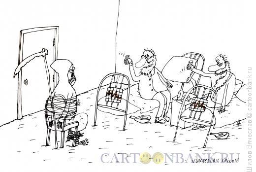 Карикатура: Посиди подожди, Шилов Вячеслав