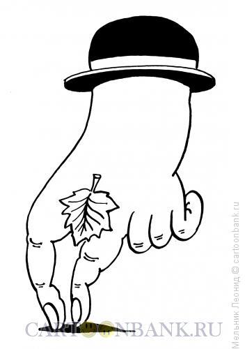 Карикатура: Чарли, Мельник Леонид