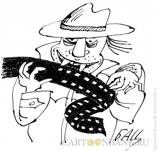Карикатура: Популярное кино о вампирах, Цыганков Борис