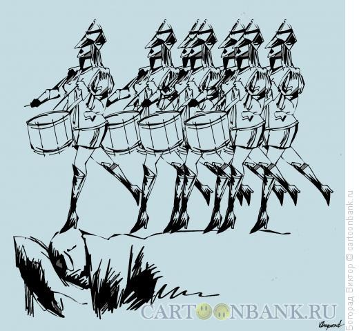 Карикатура: Тяжелый сон, Богорад Виктор