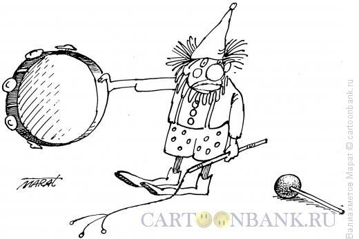 Карикатура: Укротитель, Валиахметов Марат