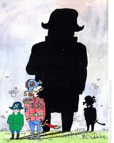 Карикатура: Наполеон, Иванов Владимир