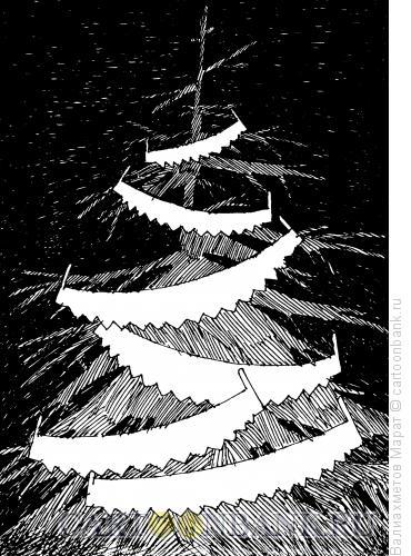 Карикатура: Елочка, Валиахметов Марат