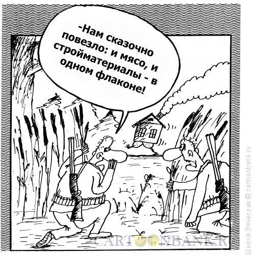 Карикатура: В гостях у сказки, Шилов Вячеслав