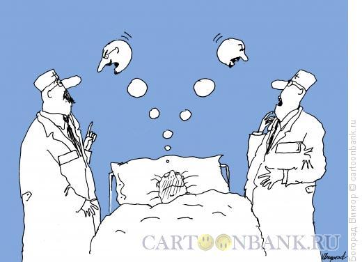 Карикатура: Раздвоение личности, Богорад Виктор
