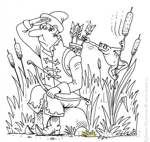 Карикатура: Воровка, Дубинин Валентин