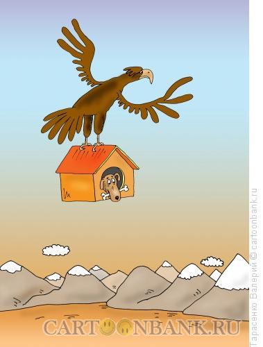 Карикатура: Орлиная тушенка, Тарасенко Валерий