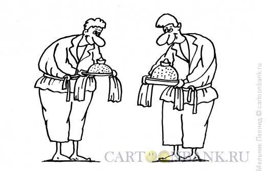 Карикатура: Традиция, Мельник Леонид