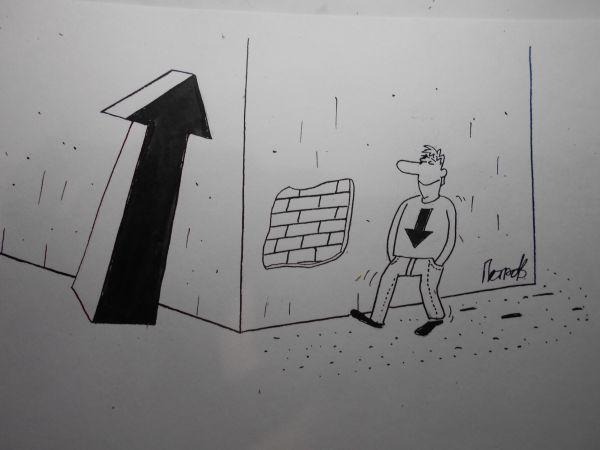 Карикатура: �з за угла, Петров Александр