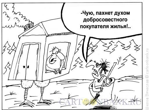 Карикатура: Добросовестный покупатель, Шилов Вячеслав