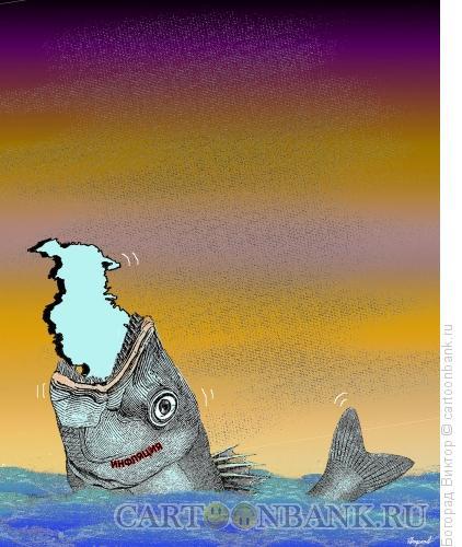 Карикатура: Инфляция, Богорад Виктор