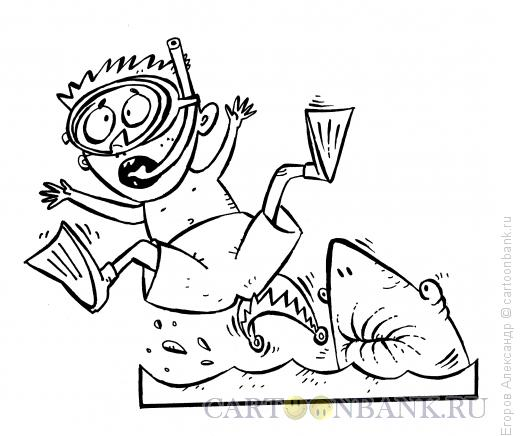 Карикатура: Случай в море 2, Егоров Александр
