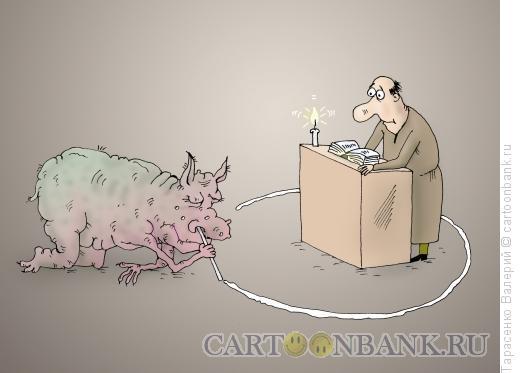 Карикатура: Званый гость, Тарасенко Валерий