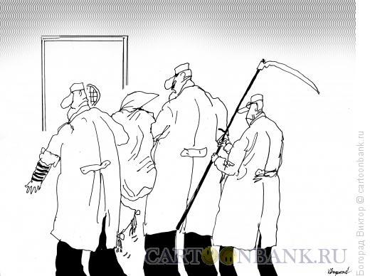 Карикатура: Задержание, Богорад Виктор
