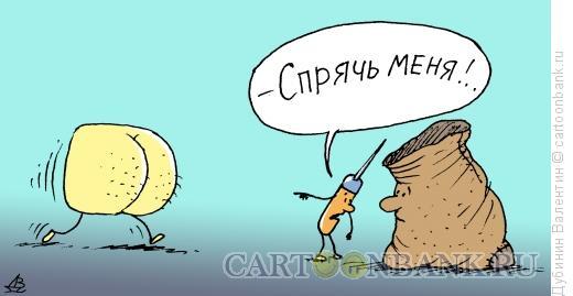 Карикатура: Шило, Дубинин Валентин