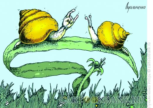 Карикатура: Наезд, Лукьянченко �горь