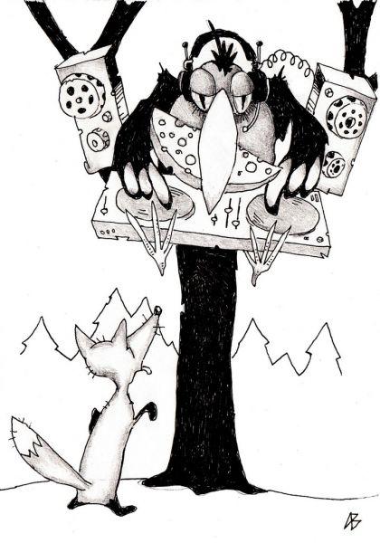 Карикатура: � петь я не стыжусь, Андрей Василенко