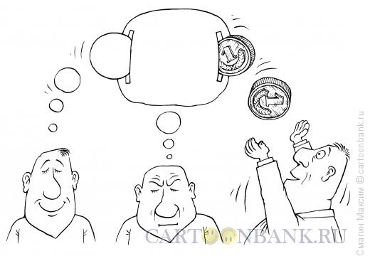 Карикатура: Монетизация масли, Смагин Максим
