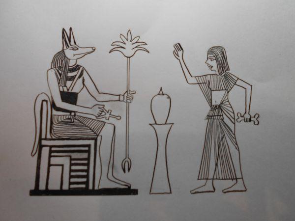 Карикатура: Жертвоприношение египтянина, Петров Александр
