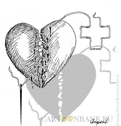 Карикатура: Операция на сердце, Богорад Виктор