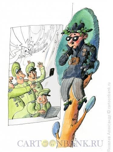 Карикатура: Селфи, Яковлев Александр