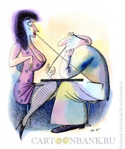 Карикатура: Коктейль, Яковлев Александр