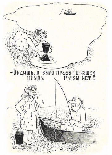 Карикатура: Неопровержимое доказательство, Зеркаль Николай Фомич