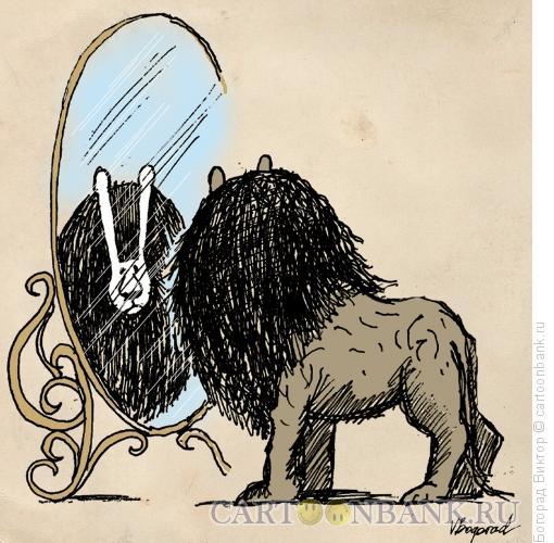 Карикатура: Зеркало, Богорад Виктор
