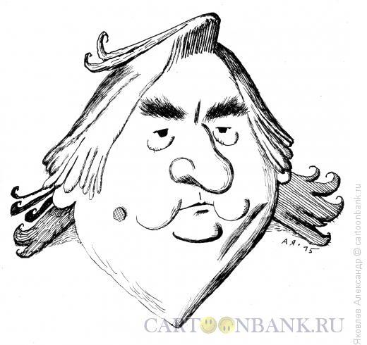 Карикатура: Александр Проханов, Яковлев Александр