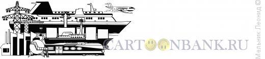 Карикатура: Рисунок для логотипа, Мельник Леонид
