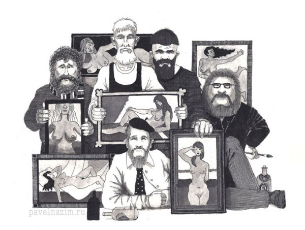 Карикатура: Союз художников, nazim_p