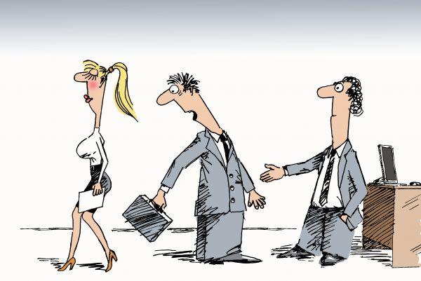 Карикатура: Деловая встреча, osipovva