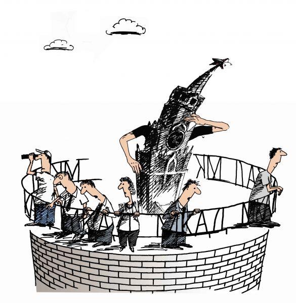 Карикатура: Есть ли жизнь за МКАДом, osipovva