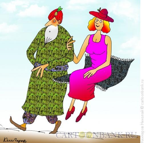 Карикатура: Неравный брак, Кинчаров Николай