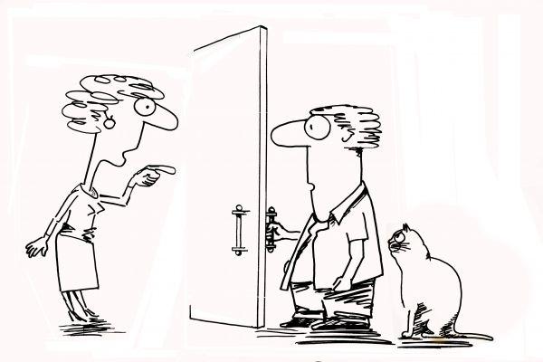 Карикатура: Так ты не один?, osipovva