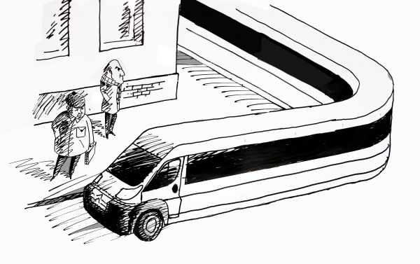 Карикатура: Маршрутки, osipovva